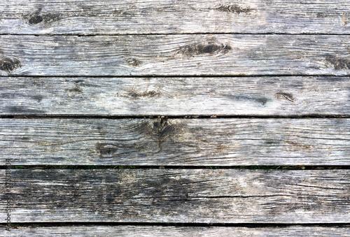 Obraz na plátně Seamless texture, background old wood fence or table