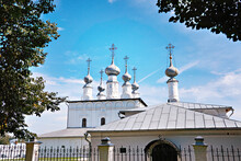 Domes Church In Suzdal