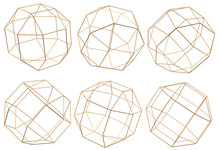 3D Illustration Sphere With Co...