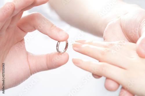 プロポーズ Fotobehang