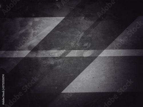 Fototapety, obrazy: Zebra line rustic road lane abstract background