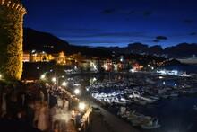Veduta Notturna Sul Porto Di S...