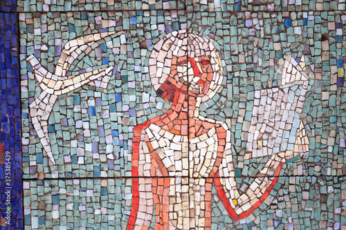mosaic of a woman © Evgeny