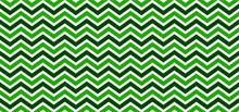 Green. Seamless Chevron Zigzag...