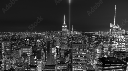 View of Manhattan Empire State Building Fototapet
