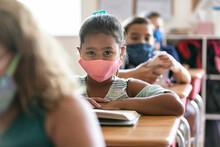 School: Smart Girl Reading Sch...