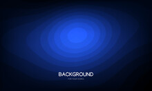 Blue Abstract Background. Futu...