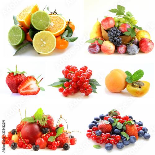 Liste des fruits les plus sucrés Fotobehang