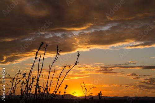 niebo chmury natura zachód słońca światło widok - fototapety na wymiar