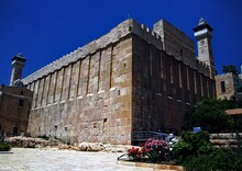 The Tombs Of The Patriarchs In Hebron