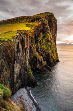 Cliffs Around Neist Point Ligh...