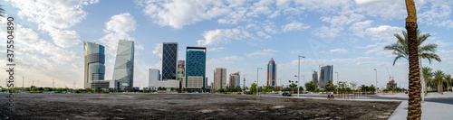 Leinwand Poster Lusail is a planned city in Qatar, located on the coast, in the northern part of the municipality of Al Daayen