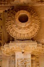 Stone Pot On Pillar Top, Gwali...
