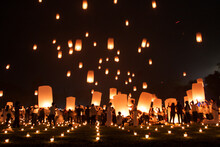 The Lantern Festival In The Co...
