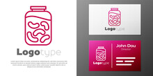 Logotype Line Pickled Cucumber...
