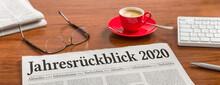 Zeitung Auf Schreibtisch - Jah...
