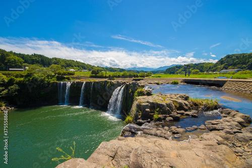 Fotografie, Obraz 原尻の滝