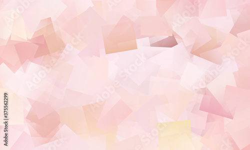Abstract cubes background - scraps of paper. Wallpaper Mural