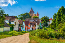 Traditional Saxon Village With...