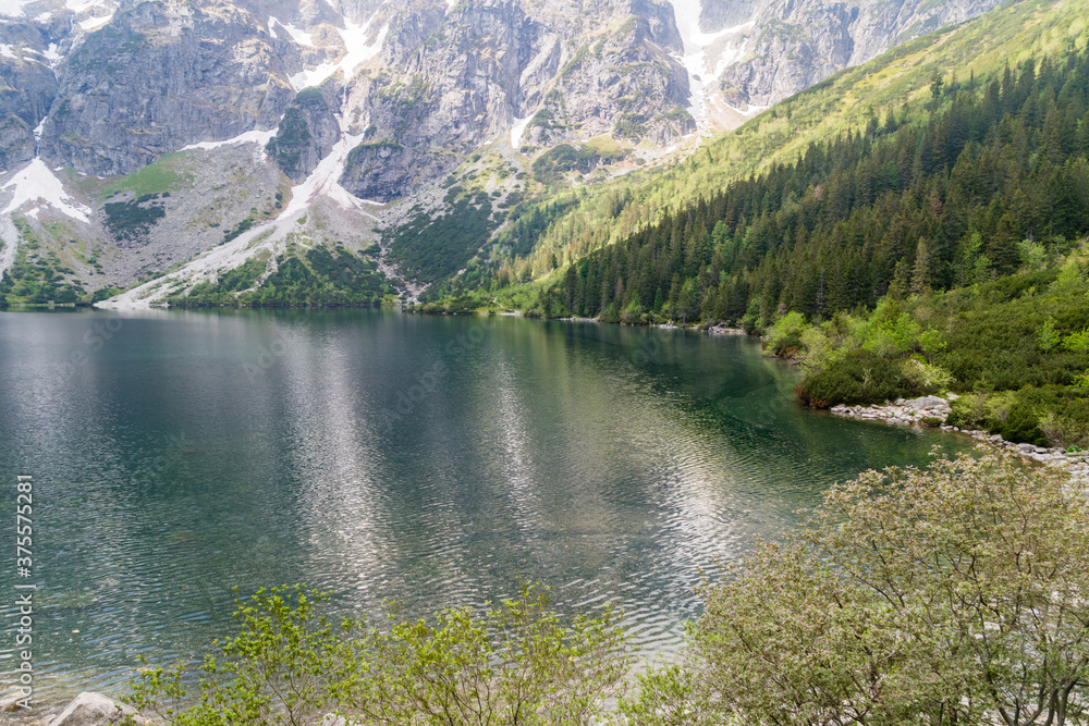 Morskie Oko, or Eye of the Sea in English. Largest and fourth-deepest lake in the Tatra Mountains.