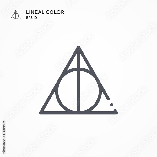 Deathly Hallows special icon Fototapet