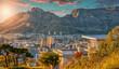 canvas print picture - cape town streets