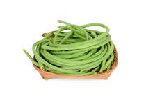 Uncooked Fresh Yard Long Bean ...
