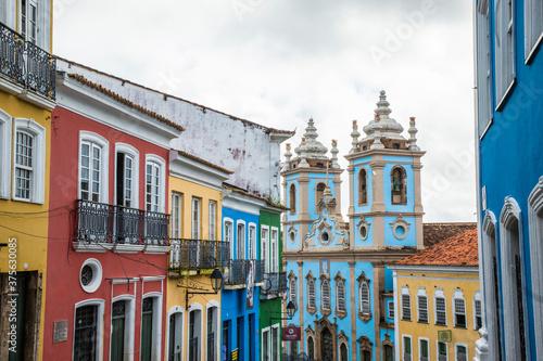 Pelourinho Centro Histórico de Salvador Fototapeta