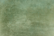 Scraped Green Grungy Background