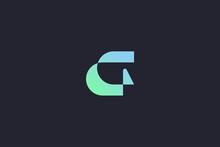 Technology Letter G Logo Abstract Whimsical Monogram