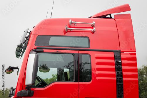 Fotografie, Obraz camion, motrice, autocarro, rimorchio, particolari