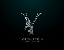 Classic Y Letter Icon. Luxury ...