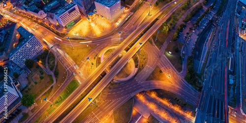 Foto Halle Saale junction aerial