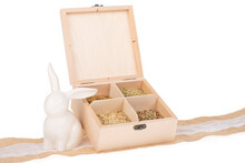 Wooden Gift Box With Assorted ...