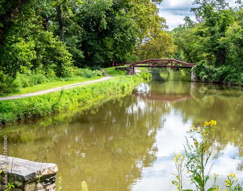 Fotomural Thompson-Neely Camelback Bridge