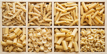 Italian Pasta Collection In Wo...