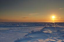 Sunrise Over Lake Michigan