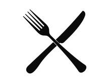 Cutlery On A Transparent Backg...