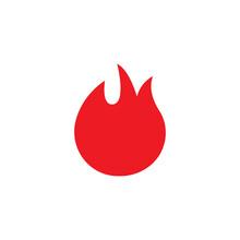 Fire Vector. Logo Icon.