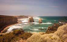 Great Ocean Road Lookout. Scen...