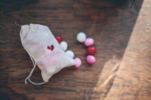 Bag Of Valentine's Day Candy