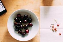 Bowl Of Cherries For Breakfast