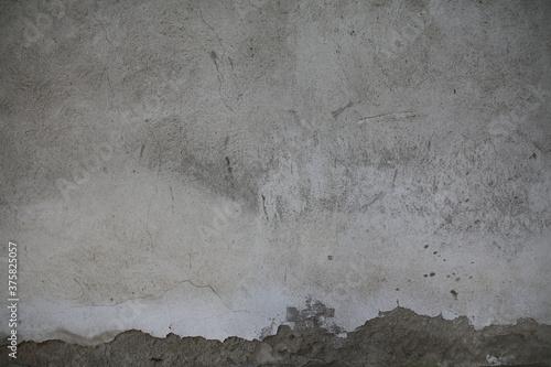 muro di cemento rovinato Canvas Print