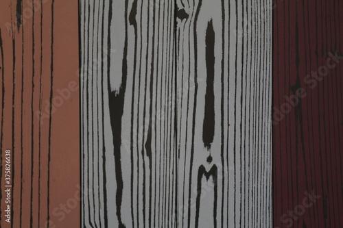 texture di assi di legno colorate Canvas Print