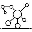 vector design of molecular physics icon