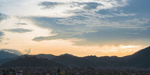 The Cityscape Of Kathmandu Cit...