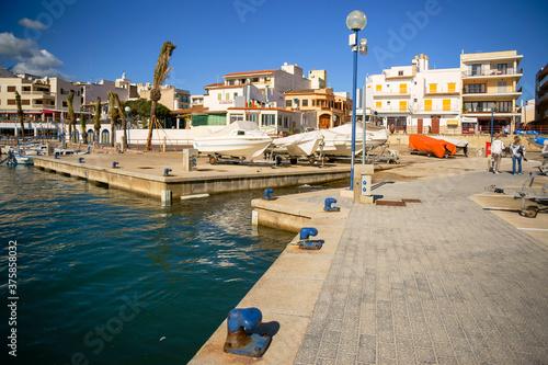 Puerto de Cala Ratjada. Llevant.Mallorca.Baleares.España.