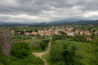 Landscape from Arezzo, Tuscany, Italy.
