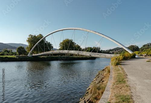 Fotografía Puente de la Isla de la Esculturas en Pontevedra, Galicia