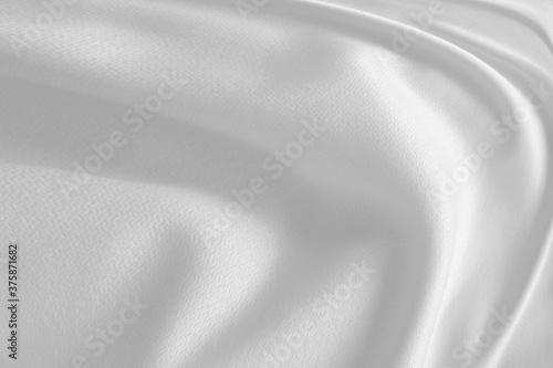 Fototapeta white satin background